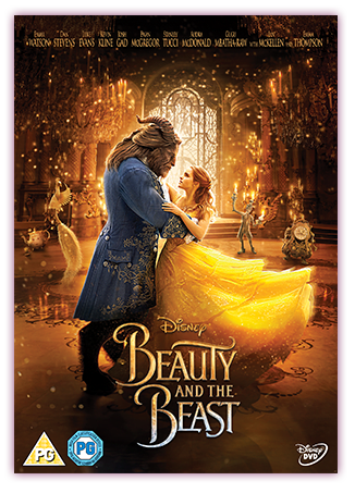 Beauty & The Beast DVD Cover