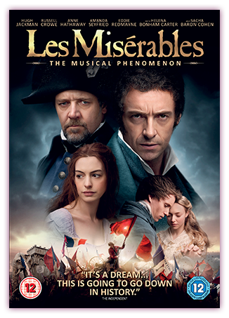 Les Miserables DVD Cover