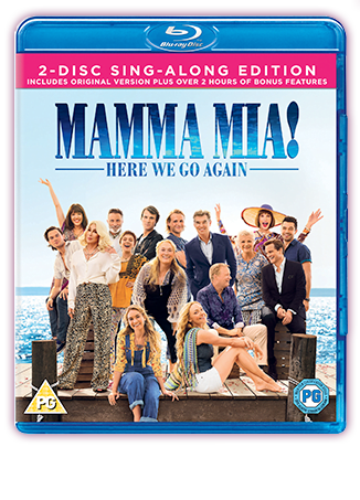 Mamma Mia! Here We Go Again DVD Cover