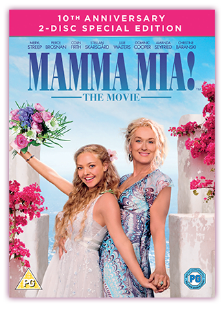 Mamma Mia! DVD Cover