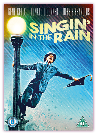 Singin' In The Rain DVD Cover